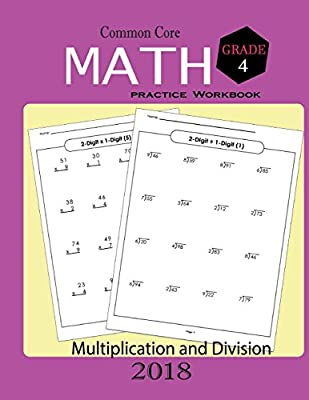 Common Core Math Practice Workbook Grade 4: Math Skills ...