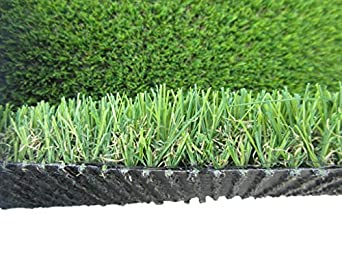 "Zen Garden Duro Commercial Artificial Grass, 10 Year Warranty, Blade Height 1.6"" (40mm), Total Weight - 83 oz; Face Weight - 55 oz/sq. yard, 8 ft x 5 ft = 40 sq. ft."