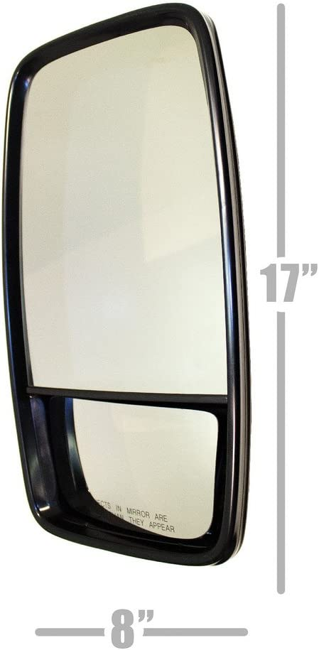 22mm Driver // LH Side Mirror 7//8 LUCERIX 2 in 1 15x8 West Coast-Mirror Hand Set Tube-style Clamp