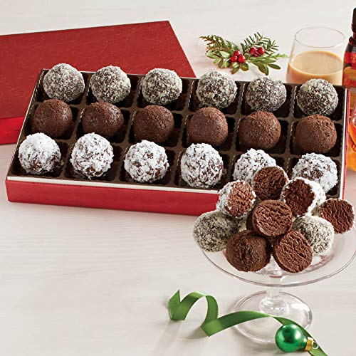 Liqueur Fudge Balls from The Swiss Colony