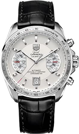 e5037249d5a Image Unavailable. Image not available for. Color: TAG Heuer Men's  CAV511B.FC6225 Grand Carrera Chronograph Calibre 17 RS Watch