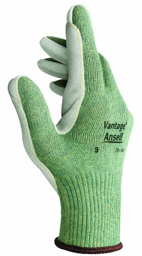 Cotton Ansell Gloves (Ansell 012-70-76.63 245714 Knitted 10G Linerplaited with Poly-Cotton)