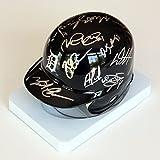 Detroit Tigers 2015 Team Signed Autographed Mini Helmet Cabrera Kinsler