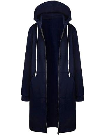Clearance Innerternet Women Long Coat Jacket Tops Outwear Warm Zipper Open  Hoodies Sweatshirt ebc370a3ca