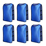 Senston Sports Pinnies 6 Scrimmage Training Vests (6 Color 3 Size)