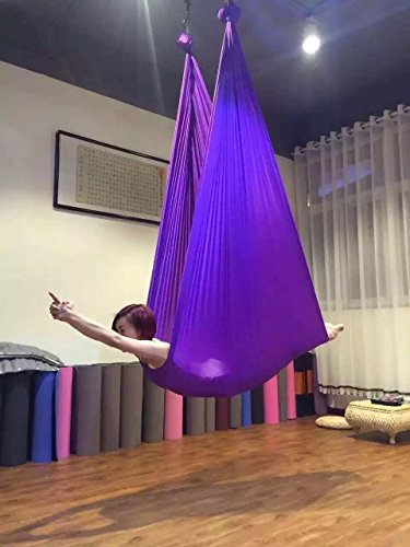 DASKING Premium Aerial Yoga Hammock Kit Flying Yoga Silk Kit