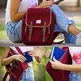 ULAK Casual Mini Backpack Lightweight Rucksack Slim