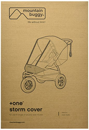 Mountain Buggy Storm Cover for 2015 Plus One Inline Stroller