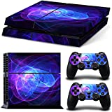 Zhhlaixing PlayStation4 革新的な Cover Skin Sticker クール Vinyl Skin Stickers for Host + Controller PS4