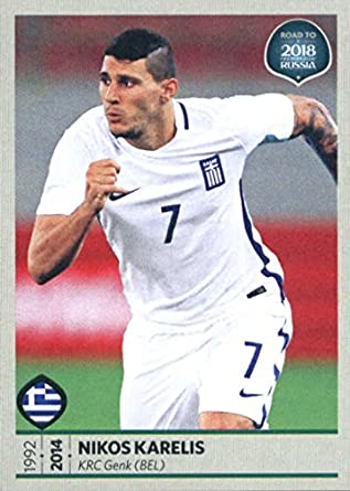 ... Orestis Karnezis · Soccer PlayersLinkHotGreeceBoyfriendHs  SportsSportyMenFootball Players  new arrivals c864d c9325 2017 Panini Road  to 2018 FIFA World ... 8b6e48ebd
