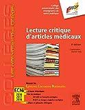 Lecture Critique Articles Médicaux 4ED: Réussir les ECNi
