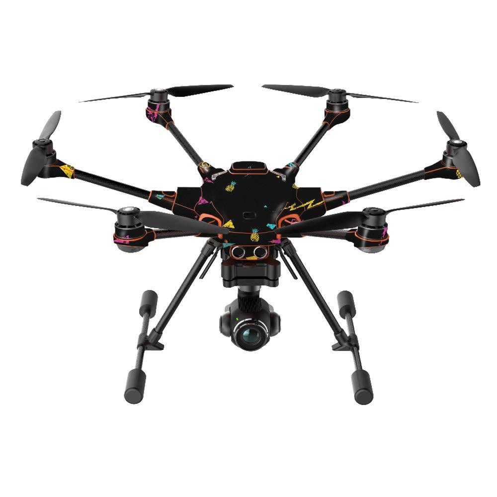 MightySkins スキンデカールラップ Yuneecステッカー保護カバー 100種類のカラーオプションに対応, Yuneec H520-G Drone, YUH520-Magic Pineapple Yuneec H520-G Drone Magic Pineapple B07K4QXDPF