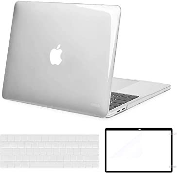Mosiso Macbook Pro 13 Case Corner Protective Compatible Newest Macbook Pro 13 Inch 2019 2018 2017 2016 Release A1989 A1706 A1708 Plastic Hard Shell Keyboard Cover Screen Protector Crystal Clear Amazon Ca Computers Tablets
