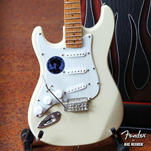 FanMerch Mini Guitarra Jimi Hendrix Coleccionable, Color Crema ...