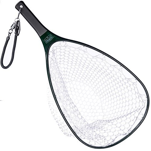 Carbon Fiber Fly Fishing Set: Rubber Mesh Net, Magnetic Release