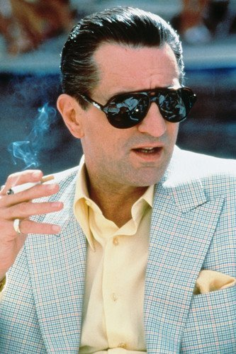 Robert De Niro in Casino 11x17 Mini Poster iconic in shades from Silverscreen