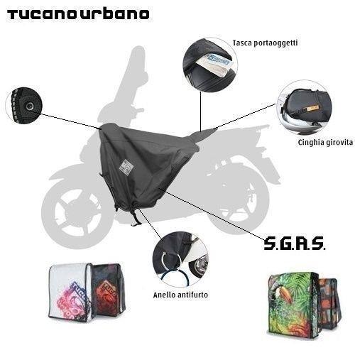 Tucano Urbano Termoscud Saco Manta t/érmica R017/para Honda Vision 110