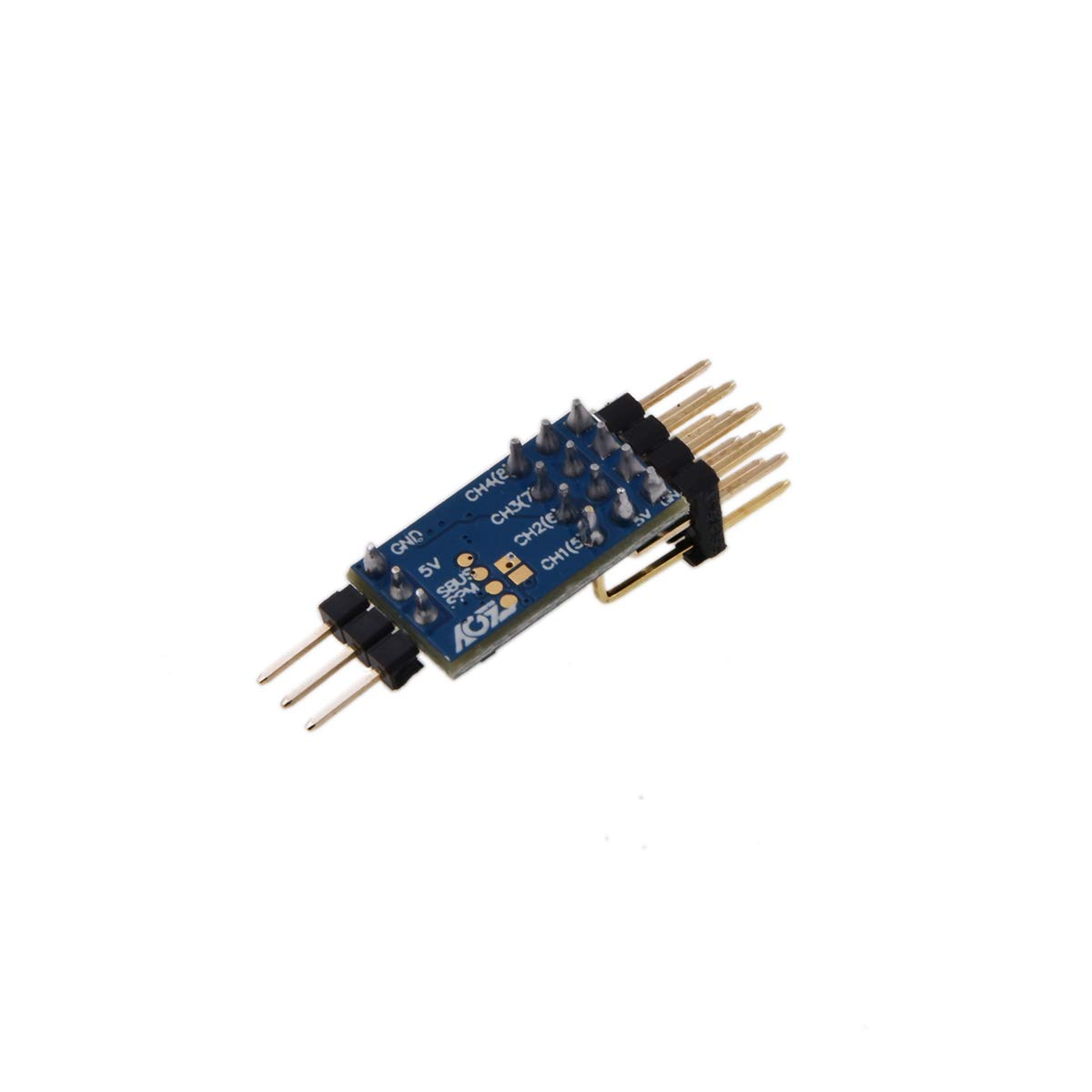 AGFrc Tiny Remote Control Signal Converter Automatically Identify and Decoding SBUS//PPM Series Signal,Output CH1-CH8 Remote Channel Signal Converter for Receiver