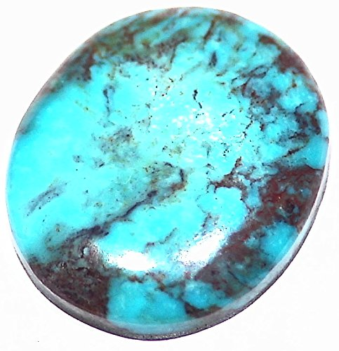 17.16ct TRUE Bisbee Blue Turquoise Rare Arizona Collectible USA Freeform Cabochon Natural Untreated Healing Crystal Gemstone Cab