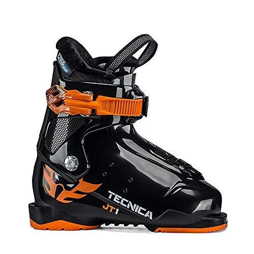 Black Kids Ski Boots - Tecnica JT 1 Kids Ski Boots 2020-14.5/Black