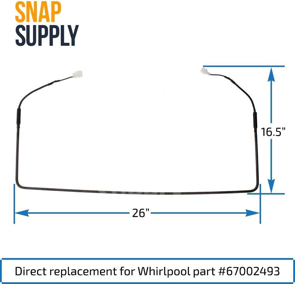 67002493 Whirlpool Heater Evaporator 67002493