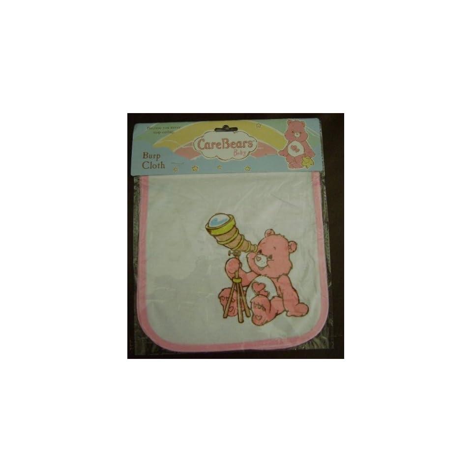 CARE BEAR BABY BURP CLOTH   (FOR GIRL)