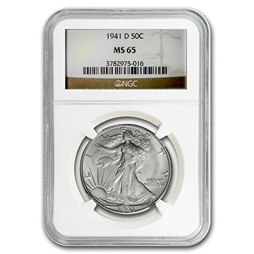 1941 D Walking Liberty Half Dollar MS-65 NGC Half Dollar MS-65 NGC