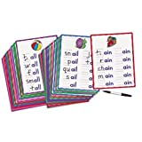 Word Patterns Practice Cards by Lakeshore Learning Materials