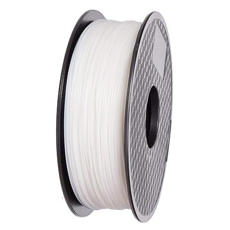 Ifun Filamento PLA para impresora 3D color blanco compatible con ...