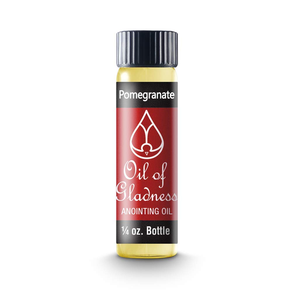 Oil of Gladness Pomegranate Anointing Oil - Oil for Daily Prayer, Ceremonies and Blessings 1/4 oz