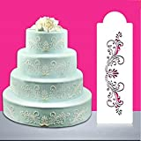SHINA Creative Nice Cake Stencils Template Strew Pad Duster Spray Art