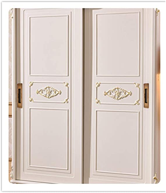 Empuñadura rectangular negra empotrada Manija de la puerta de ...