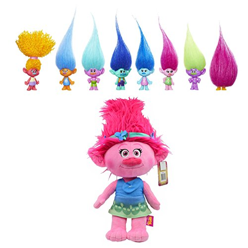 Yo Gabba Gabba Plex Costumes (Dreamwork's Trolls Troll Collection Pack and Dreamwork's Trolls