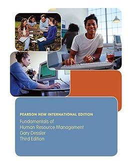 fundamentals of human resource management pearson new internationalfundamentals of human resource management pearson new international edition gary dessler 9781292023700 amazon com books