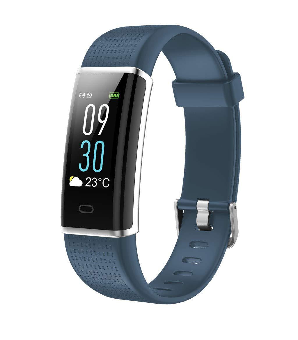Smart Wristband Blood Pressure Heart Rate Monitor Bluetooth Fitness Smart Wrist Watch Lightweigt Waterproof