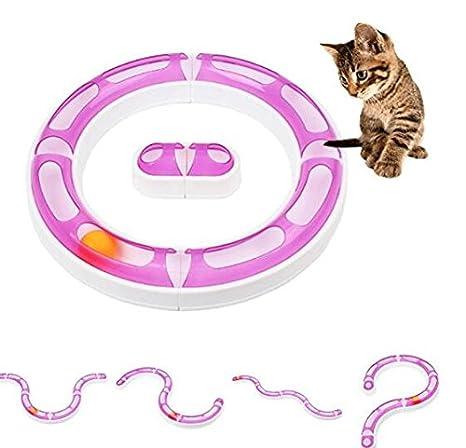 ZHJZ Juguete Interactivo para Gatos y Mascotas, Bola de Juguete Ajustable DIY Variable, orbitos para Mascotas, Gatos y Perros: Amazon.es: Productos para ...