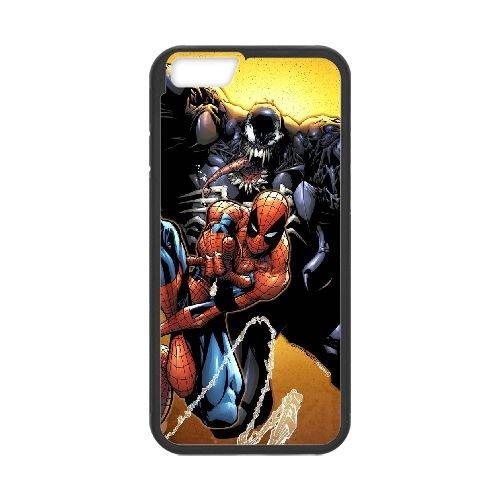 Pictures Of Spiderman 011 coque iPhone 6 4.7 Inch Housse téléphone Noir de couverture de cas coque EEEXLKNBC18666