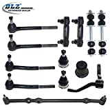 95 cadillac fleetwood brougham - DLZ 13 Pcs Front Suspension Kit-Ball Joint Tie Rod End Sway Bar Center Link Idler Arm for 1987-1992 Cadillac Brougham, 1994-1996 Cadillac Commercial Chassis, 1980-1984 Cadillac Deville