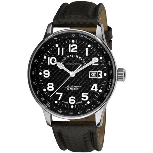 Zeno-Watch Reloj Mujer - X-Large Pilot Carbon Automática - P554-s1