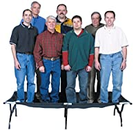TETON Sports Outfitter XXL Camping Cot - Limited Edition; Perfect for Base Camp and Hunting; Cots for Adults; Free Storage Bag Included