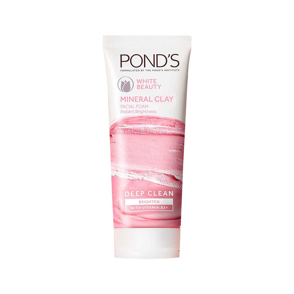 Pond's White Beauty Mineral Clay Instant Brightness Face wash