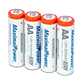 Best MaximalPower Rechargeable Batteries - Maximal Power AA4B-2900 2900mAh Ni-MH Rechargeable AA Battery Review