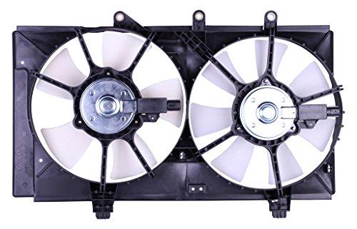 Tong Yang FAN-DG66004B Replacement Radiator/Condenser Cooling Fan Assembly 01'-03' DG NEON 4 SPEED A/T(FAN-DG66004B)