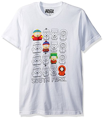 south-park-mens-characters-and-outline-t-shirt-white-large