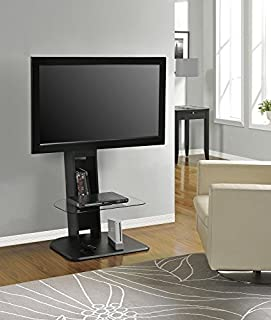 Altra Furniture Galaxy TV Stand with Mount for TVs Up to 50-Inch, Black Finish (B00A0HZPVC) | Amazon Products