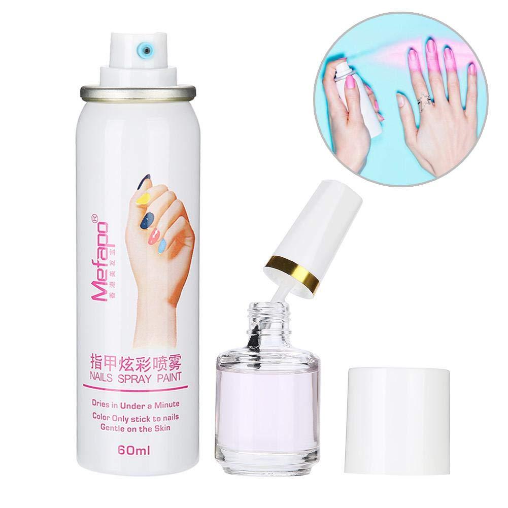 Amazon Com Nail Polish Spray 60ml Professional Easy Washing