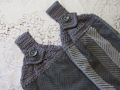 crochet kitchen towels - 6