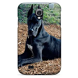 samsung galaxy s4 dirt-proof phone case skin Fashionable Design cover great dane