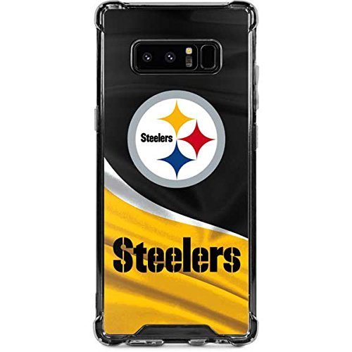 (Skinit Pittsburgh Steelers Galaxy Note 8 Clear Case - NFL - Skinit Clear Case - Transparent Galaxy Note 8 Cover)
