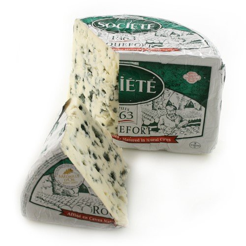 Roquefort AOP Societe Bee - Whole Foiled Half Moon (3 pound)